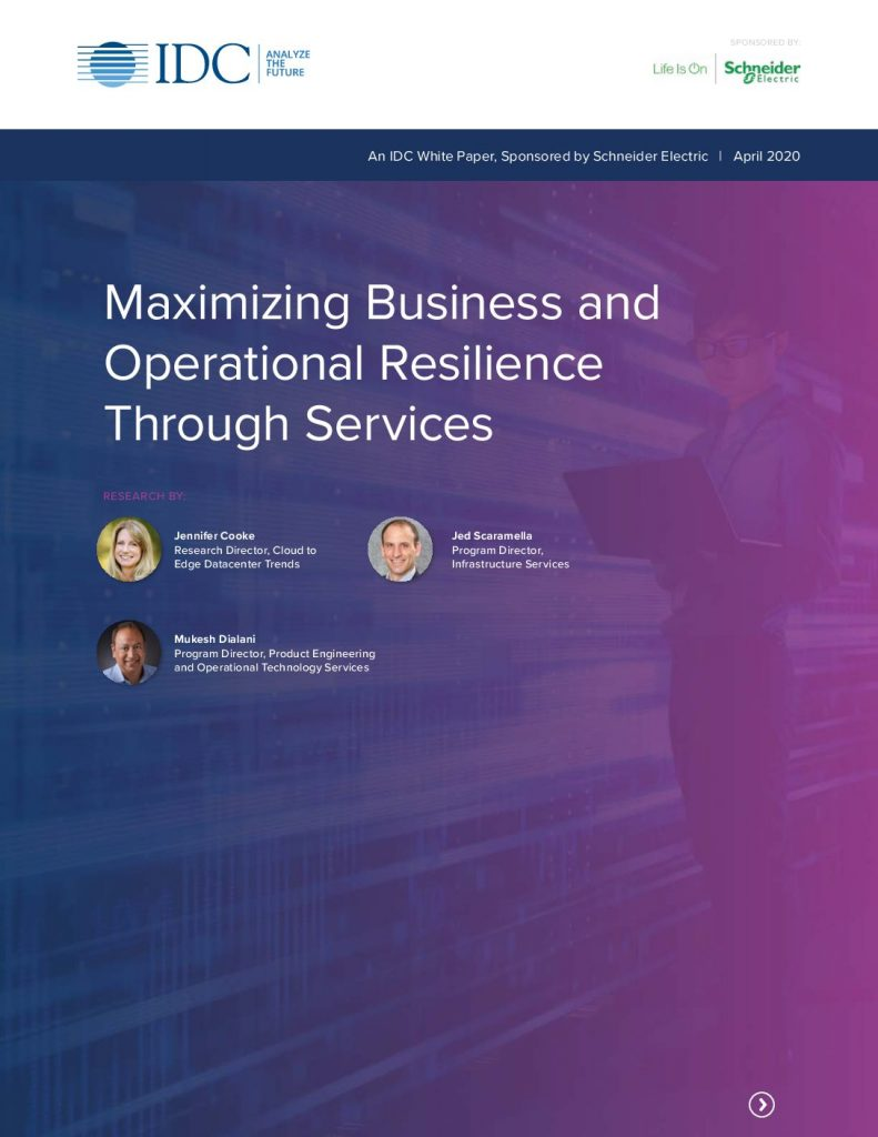 Maximizing Business and Operational Resilience Through Services