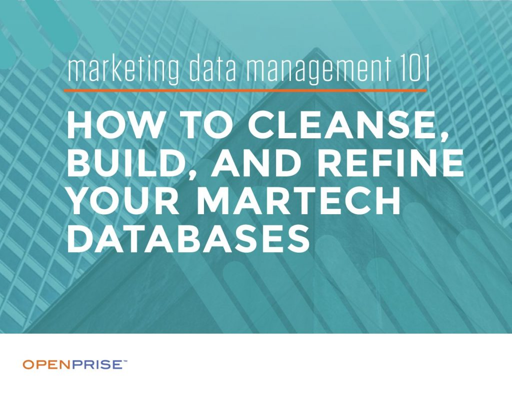 How to Cleanse, Build, and Refine Your MarTech Databases