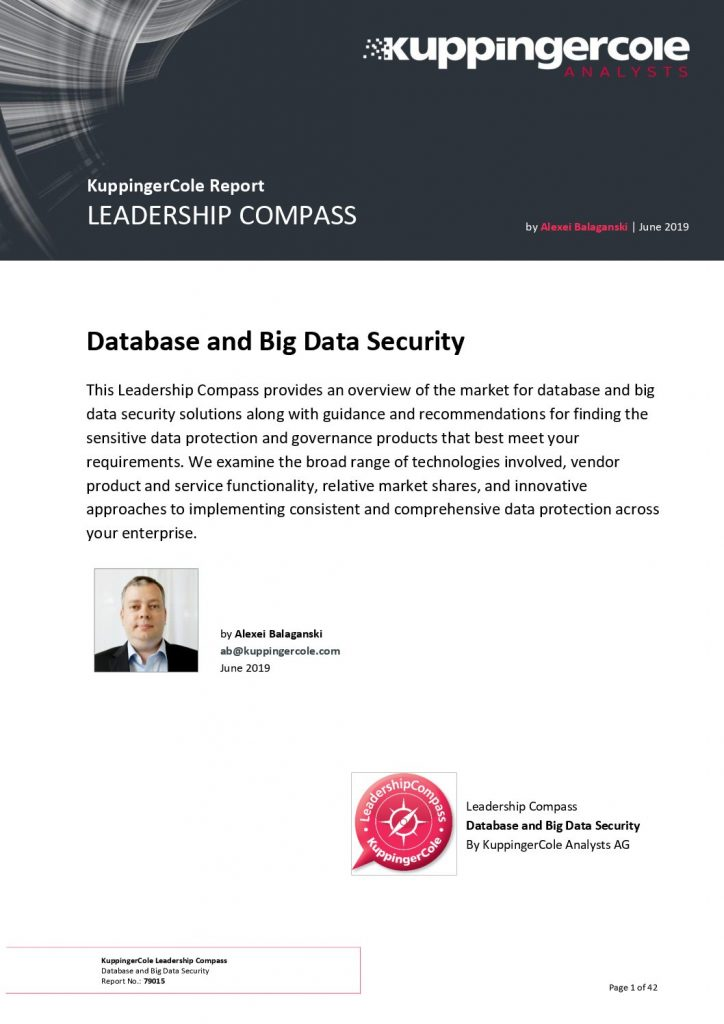 Database and Big Data Security