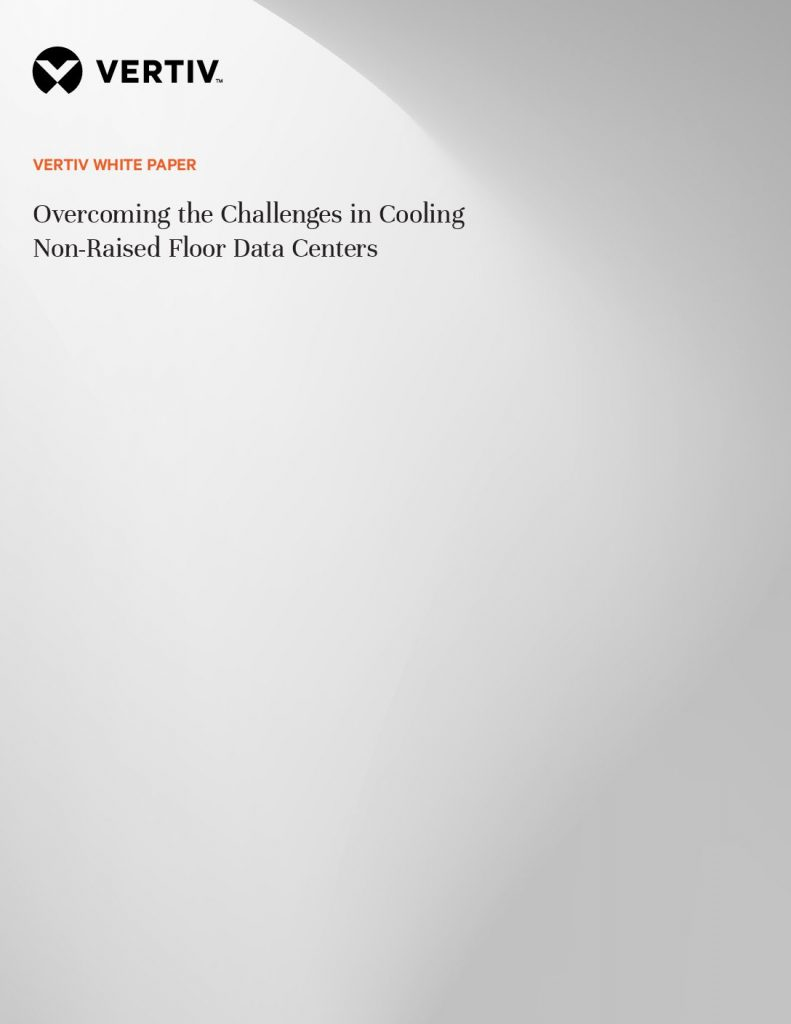 Overcoming the Challenges in Cooling Non-Raised Floor Data Centers