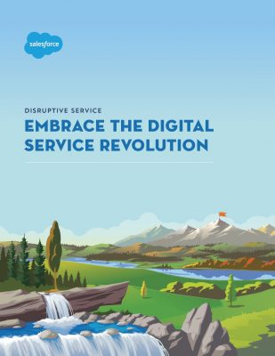 Embrace the Digital Service Revolution