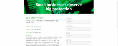 Small Businesses Deserv Big Protection
