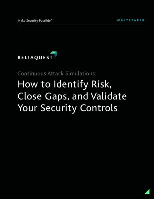 Continuous Attack Simulations: How to Identify Risk, Close Gaps, and Validate Your Security Controls
