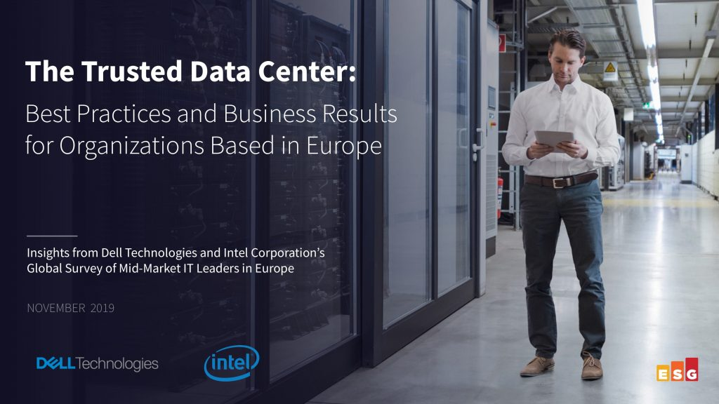 ESG E-Book: The Trusted Data Center: Best Practices and Business Results for Organizations Based in Europe