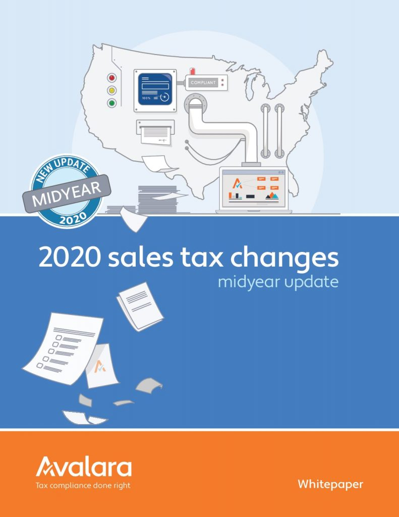 2020 sales tax changes report: Midyear update