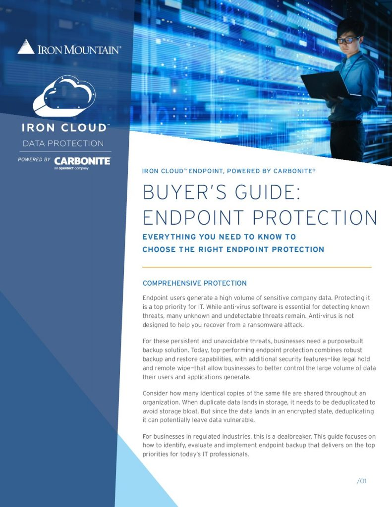 Buyer's Guide: Endpoint Protection