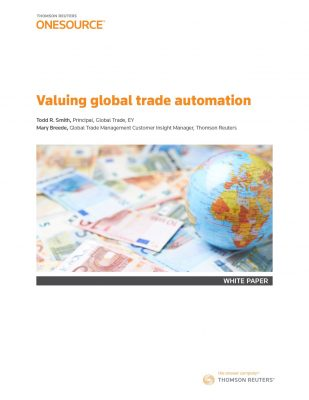 Valuing Global Trade Automation