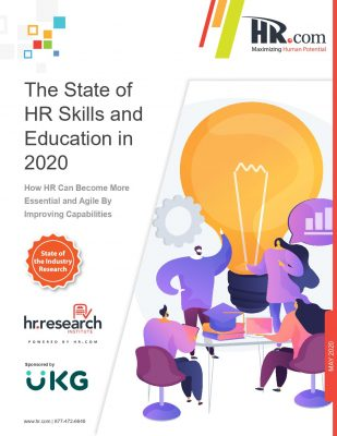 The State of HR Skills and Education 2020​