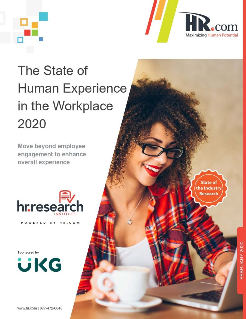 The State of Human Experience 2020​