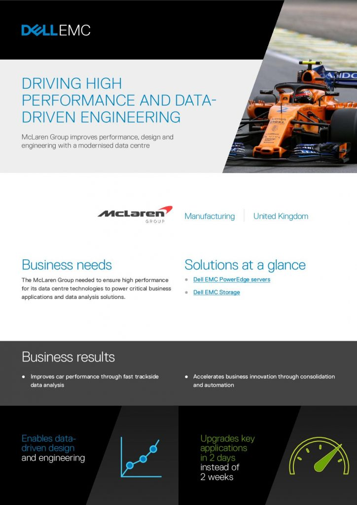 Driving high performance and data driven engineering