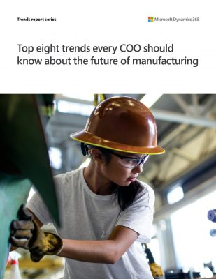 Dynamics 365 Supply Chain Management - The Top 8 Trends Every COO Should Know