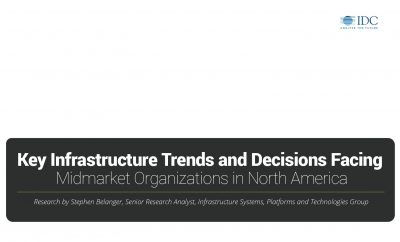 Infrastructure Trends Facing North American Midmarket Organizations
