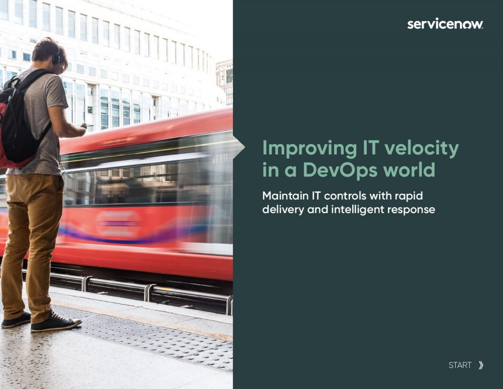 Improving IT Velocity in a DevOps World