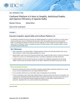 The IDC Perspective on Confluent Platform 6.0