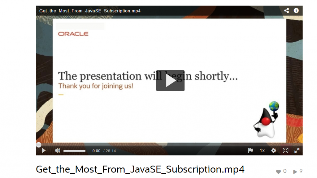 Getting the most from your Java SE subscription