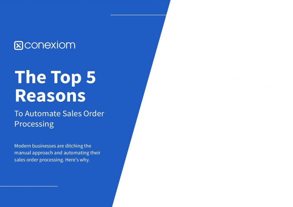 The Top 5 Reasons To Automate Sales Order Processing