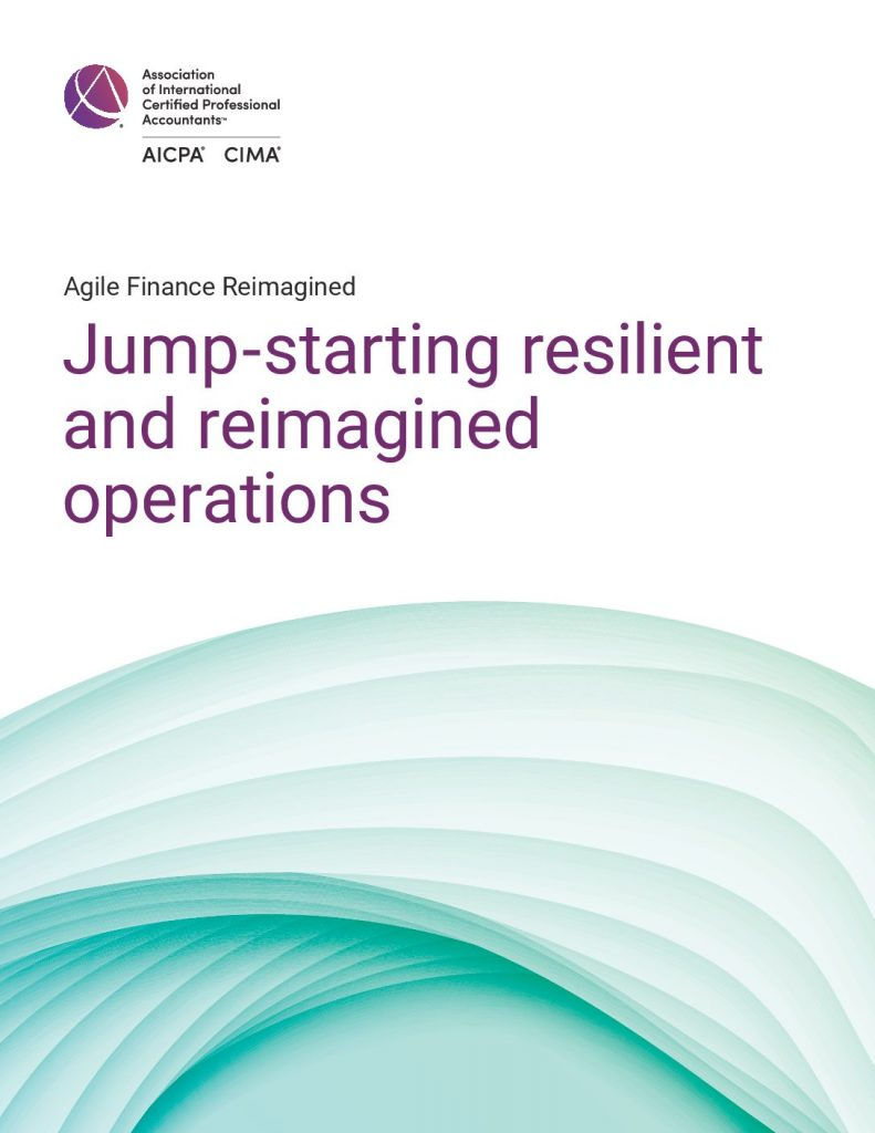 Jump-starting resilient and reimagined operations