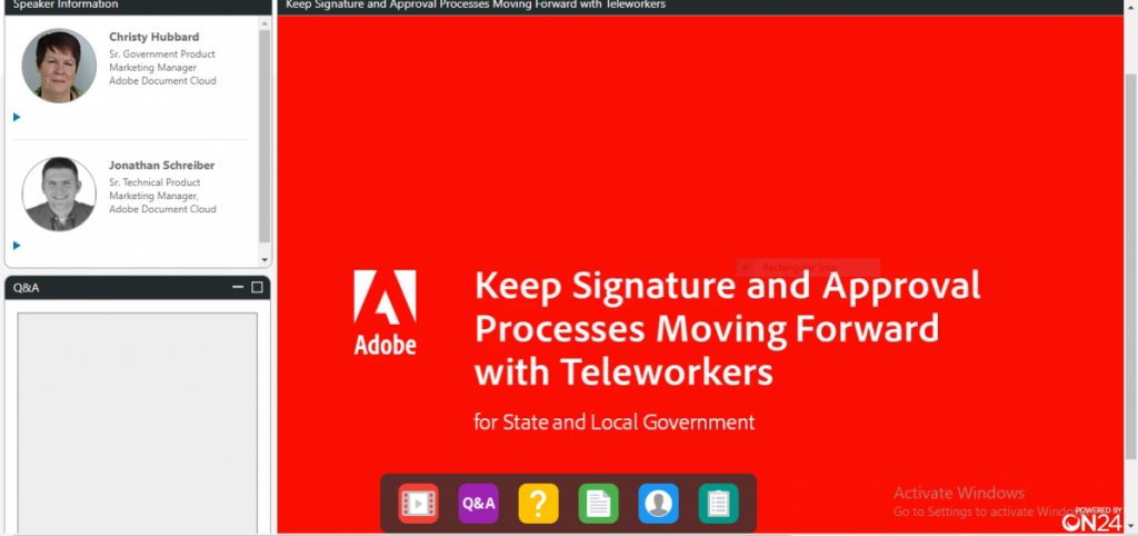 Keep Signature and Approval process Moving Forward with Teleworkers for State and Local Government