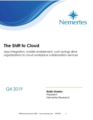 The Shift to Cloud