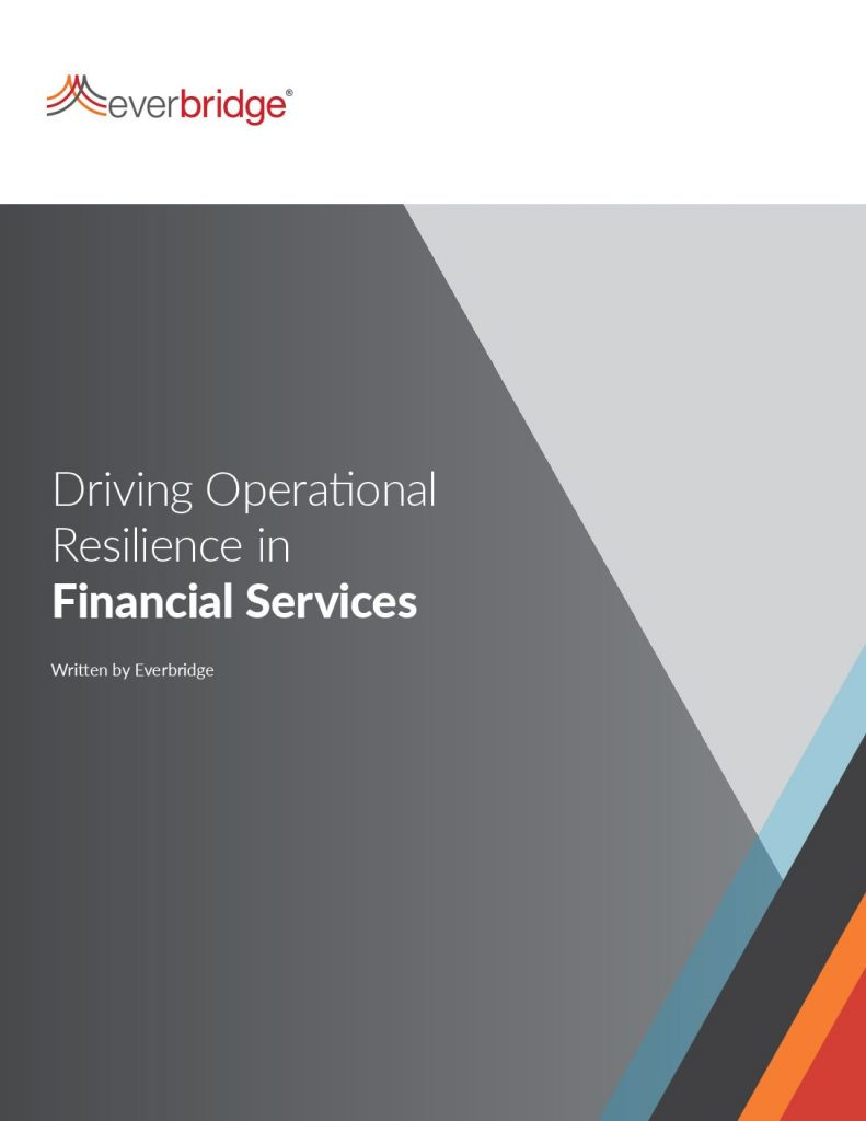 Driving Operational Resilience in Financial Services