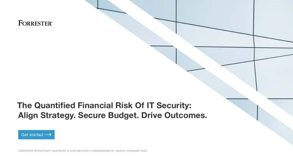 The Quantified Financial Risk Of IT Security:  Align Strategy. Secure Budget. Drive Outcomes.