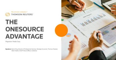 The ONESOURCE Advantage – Migration Made Easy