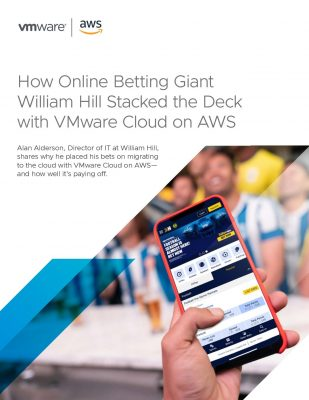 How Online Betting Giant William Hill Stacked the Deck with VMC on AWS