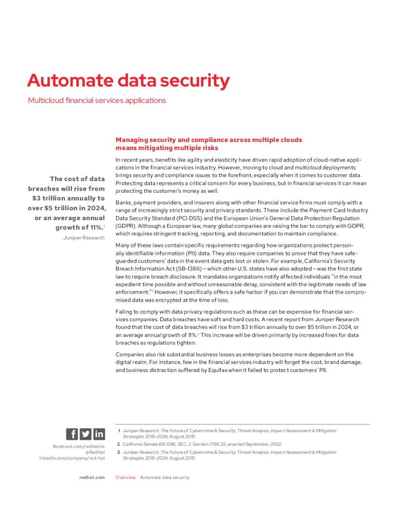 Automate Data Security
