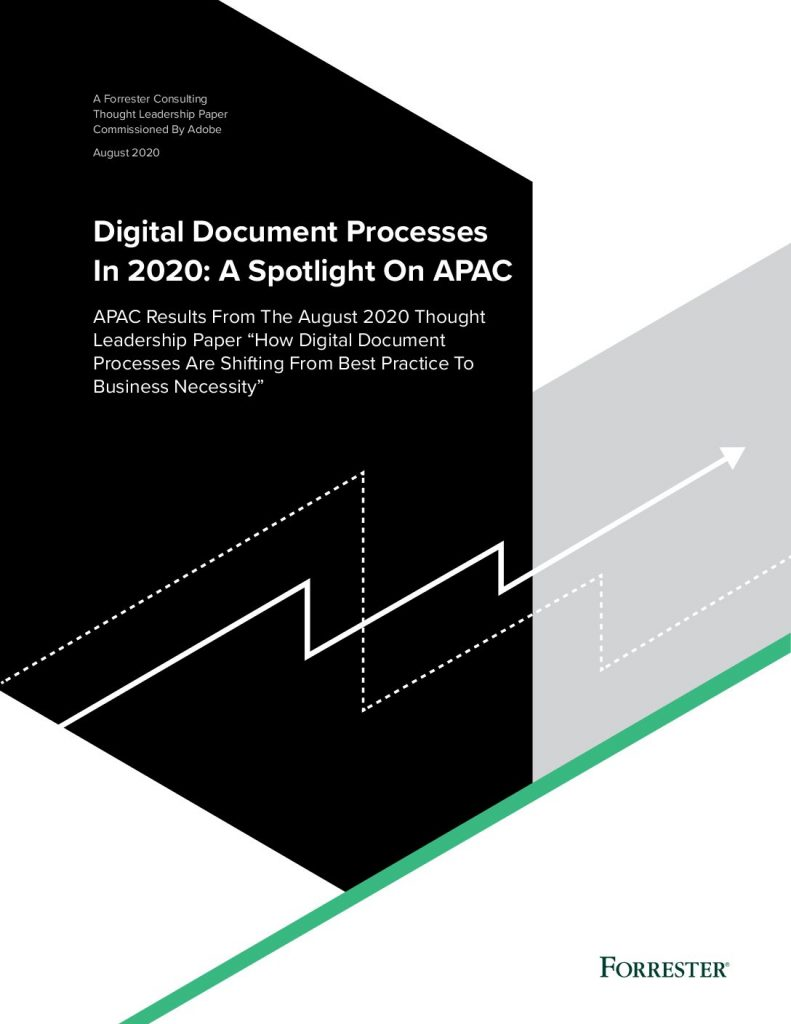 Digital Document Processes In 2020: A Spotlight On APAC