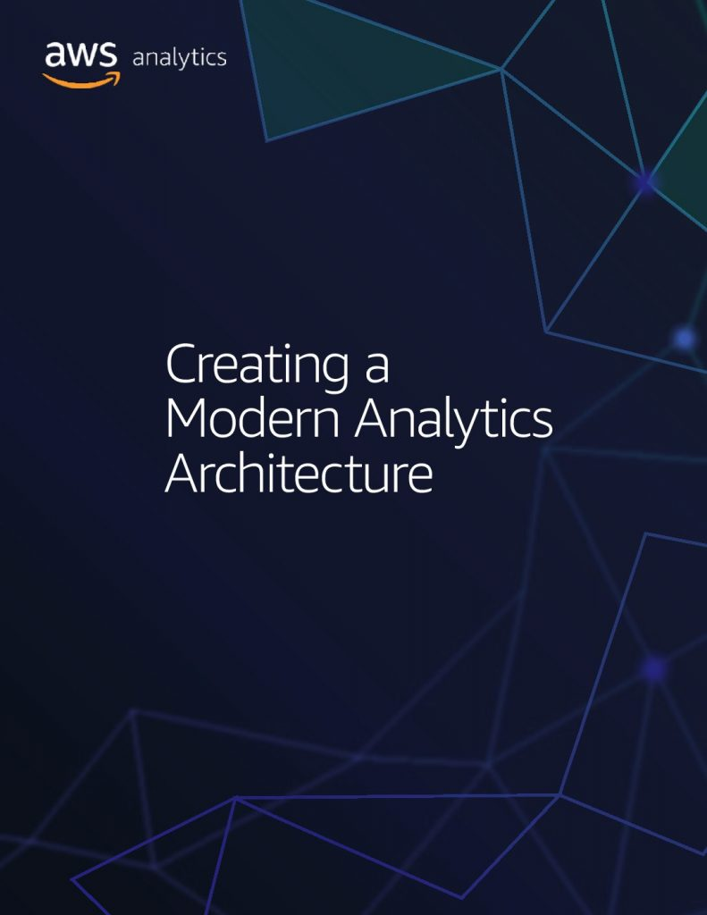 Creating a modern analytics architecture eBook