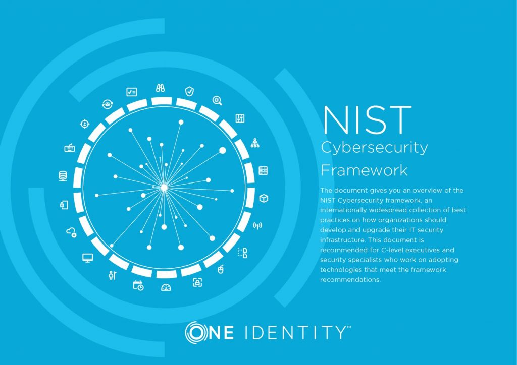 Comply with NIST CyberSecurity Framework