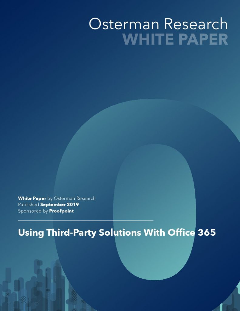 Using Third Party Solutions with Office 365