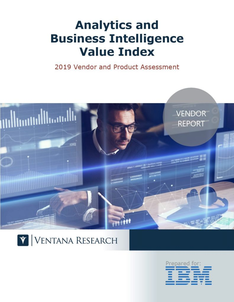 Analytics and Business Intelligence Value Index – Ventana Research