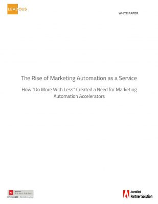 The Rise of Marketing Automation as a Service