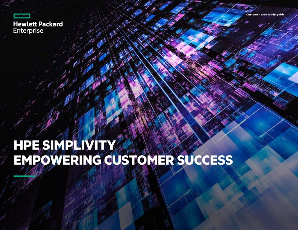 HPE SimpliVity – Empowering Customer Success