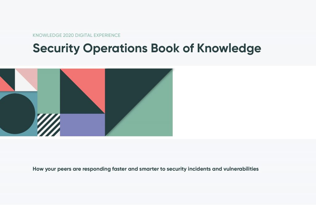 Security Operations Book of Knowledge