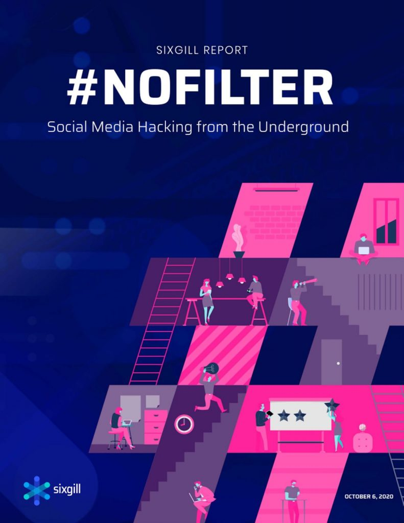 Sixgill Report # Nofilter Social Media Hacking From The Underground
