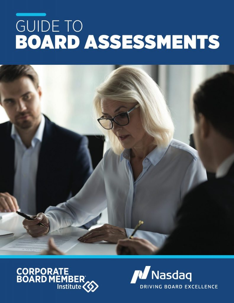 Guide to Board Assessments