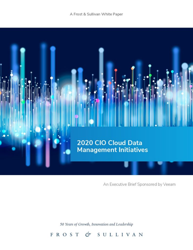 2020 CIO Cloud Data Management Initiatives