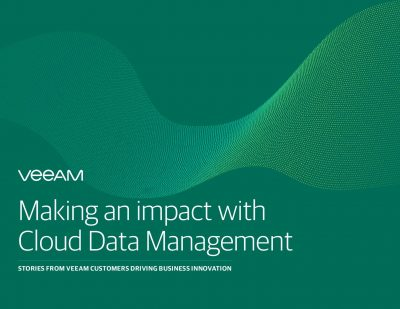 Making an impact with Cloud Data Management