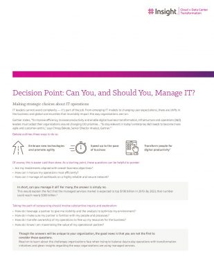 Guide: How to efficiently manage IT