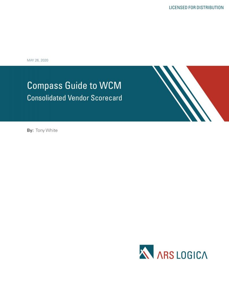 Ars Logica Compass Guide to WCMS