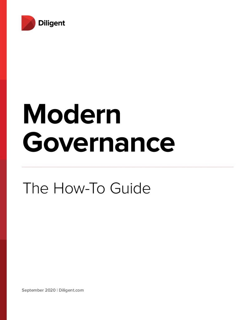 The Modern Governance How-To Guide