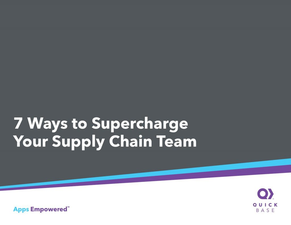 7 Ways to Supercharge Your Supply Chain