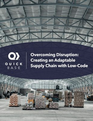 Creating an Adaptable Supply Chain with Low Code