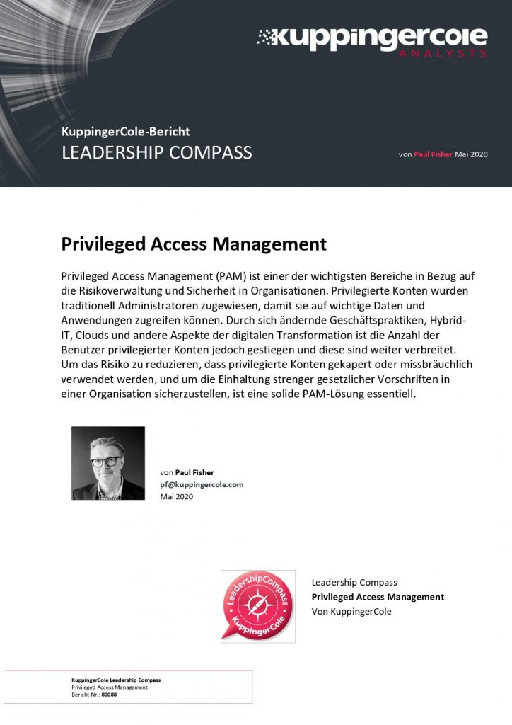 Control and management of privileged access