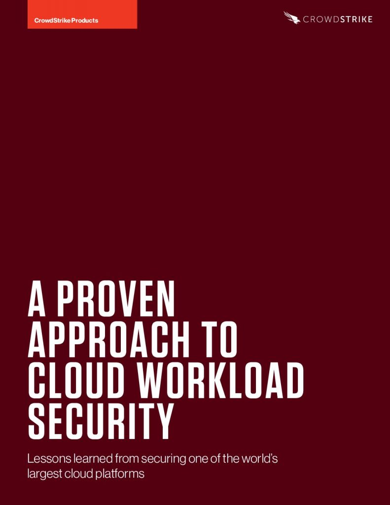 A Proven Approach to Cloud Workload Security