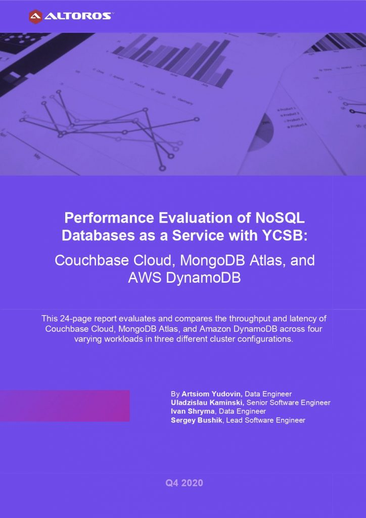 Performance Evaluation of NoSQL Databases-as-a-Service With YCSB: Couchbase Cloud™, MongoDB™ Atlas, and AWS DynamoDB