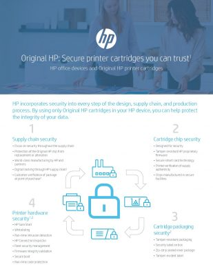 Original HP: Secure Printer Cartridges You Can Trust