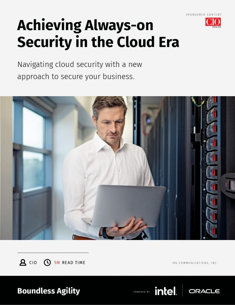 Cloud: Designed for Always-on Security